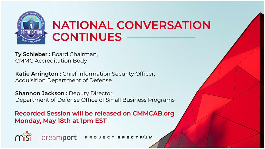 CMMC National Conversation Post