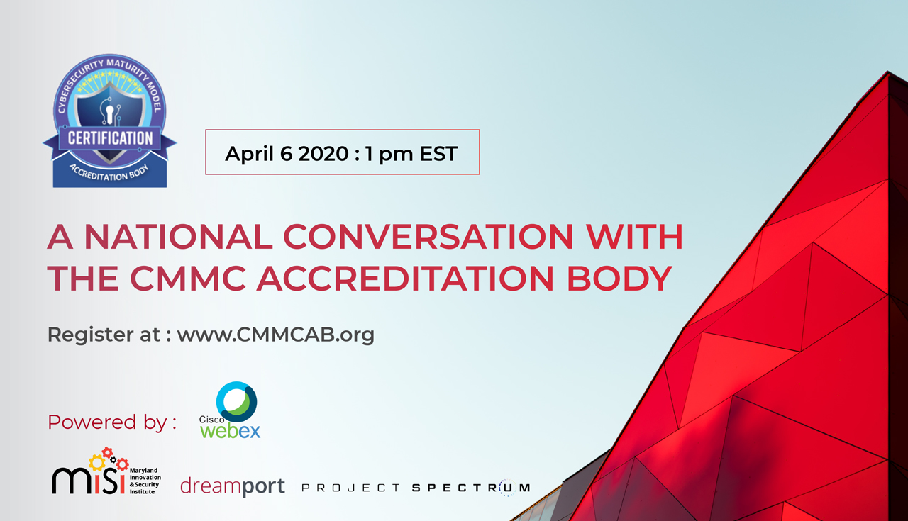 A National Conversation with the CMMC Accreditation Body
